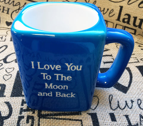 Coffee Mug,  Coffee Cup,  I Love You To The Moon And Back Cup,  I Love You To The Moon And Back Mug