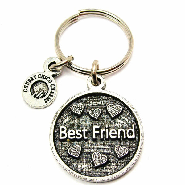 Best Friend Catalog Keychain