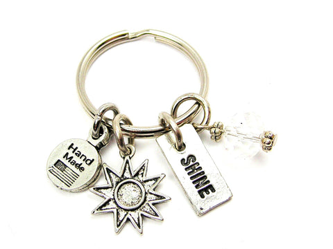 Sunburst And Shine Key Chain