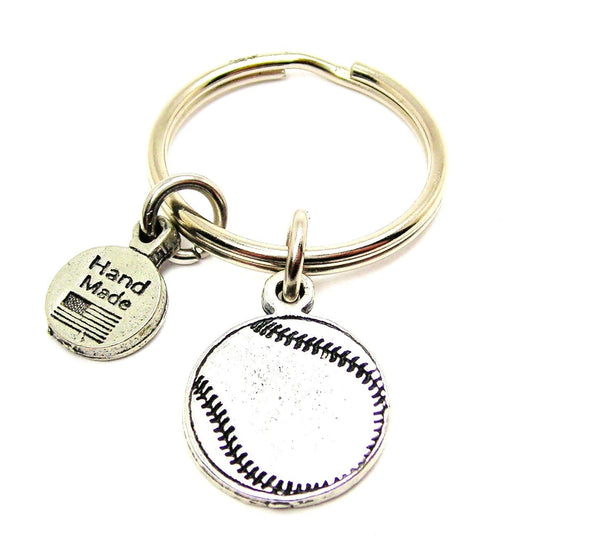 Baseball Softball Key Chain