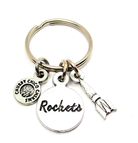 Rockets With Rocket Standard Key Chain