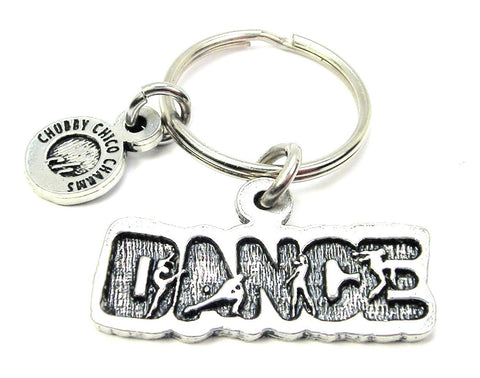 Dance With Dancers Key Chain