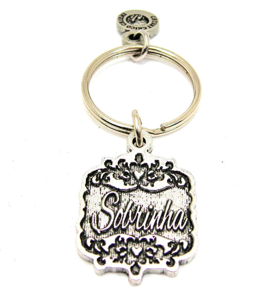 Sobrinha Victorian Scroll Key Chain
