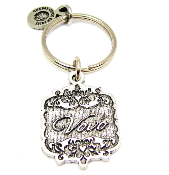 Vovo Victorian Scroll Key Chain