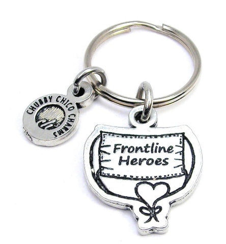 Frontline Heroes Surgical Face Mask Key Chain