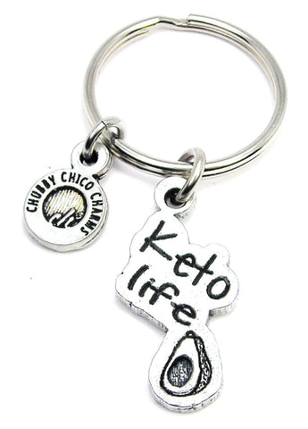 Keto Life Key Chain