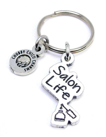 Salon Life Key Chain