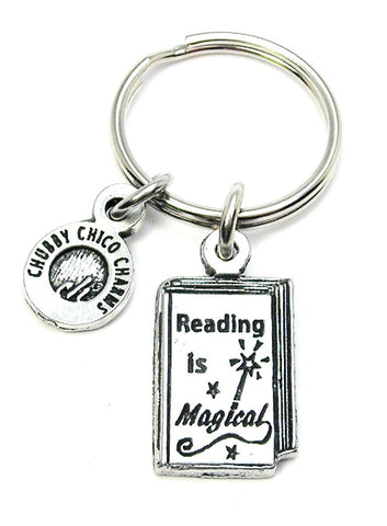 Reading Is Magical Key Chain