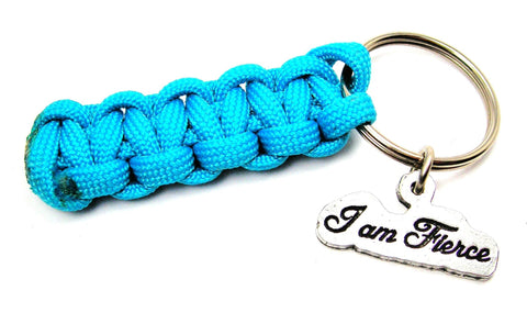I Am Fierce 550 Military Spec Paracord Key Chain