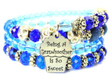 Being A Grandmother Is So Sweet Multi Wrap Bracelet