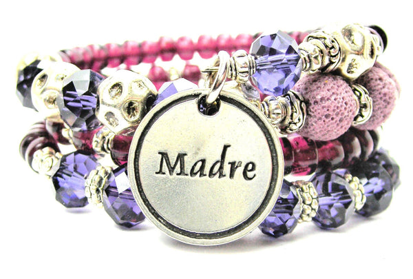 Madre Mother Multi Wrap Bracelet