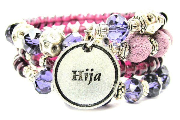Hija Daughter Multi Wrap Bracelet