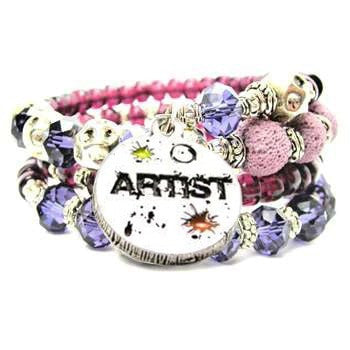 Hand Painted Artist Circle