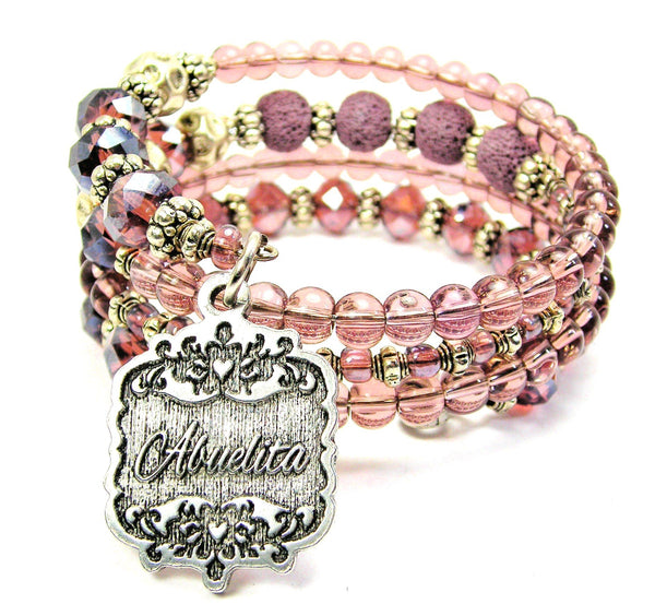 Abuelita Victorian Scroll Multi Wrap Bracelet