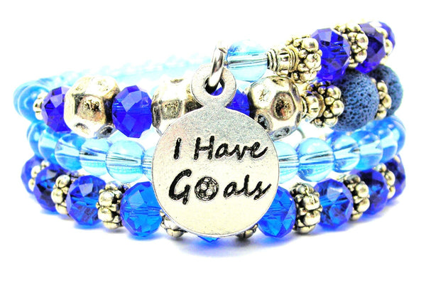 I Have Goals Multi Wrap Bracelet