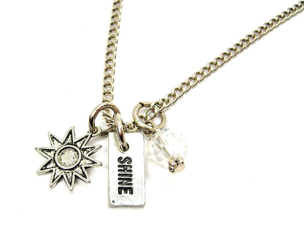 Sunburst And Shine Necklace