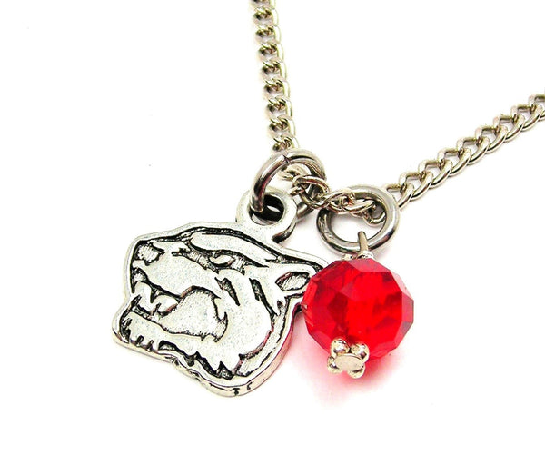 Panther Mascot Necklace