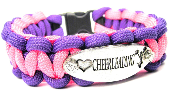Love Cheerleading 550 Military Spec Paracord Bracelet