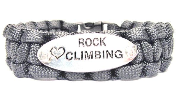 Love Rock Climbing 550 Military Spec Paracord Bracelet