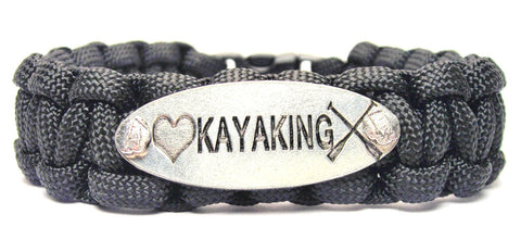 Love Kayaking 550 Military Spec Paracord Bracelet