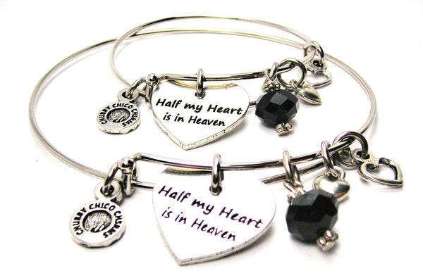 Style_Bereavement JEWELRY, ADULT AND CHILD SET, CHILDRENS BANGLE, EXPANDABLE CHILDS BANGLE