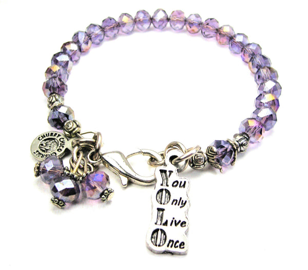Yolo You Only Live Once Catalog Splash Of Color - Lavender