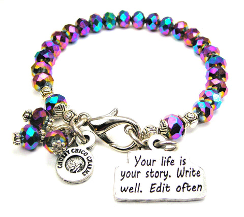 Your Life Is Your Story Write It Well Catalog Splash Of Color - Multi Color