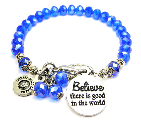 Believe There Is Good In The World Catalog Splash Of Color - Sapphire
