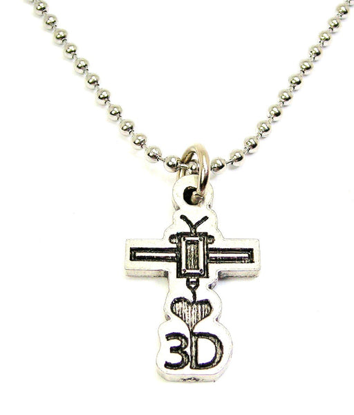 I Love 3D Catalog Necklace