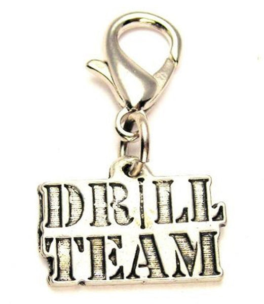Drill Team Zipper Pull