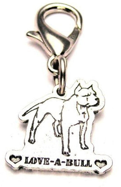 Love-A-Bull Zipper Pull