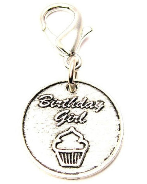 Birthday Girl Zipper Pull
