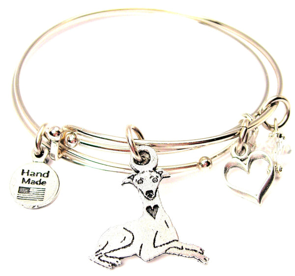 greyhound bracelet, greyhound bangles, greyhound jewelry, animal lover bracelet, dog lover bracelet