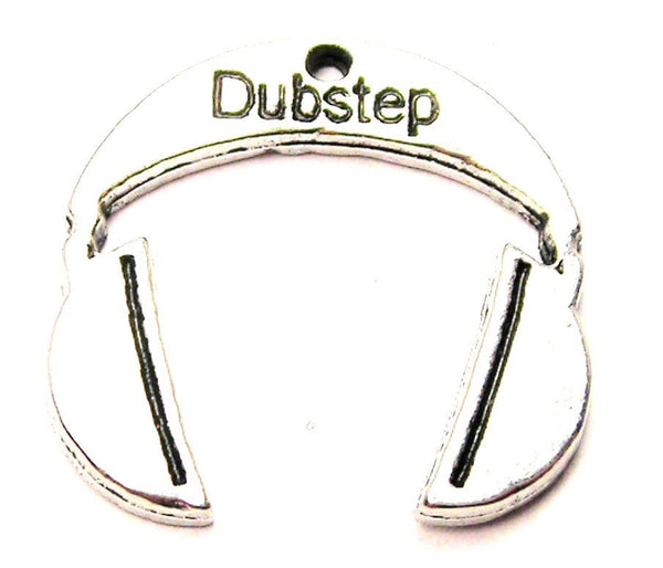 Dubstep Music Headphones Genuine American Pewter Charm