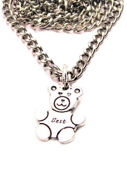 Teddy Bears Set Of 2 Best Friends Catalog Necklace