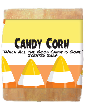 Halloween Candy Corn Kids Soap Bar