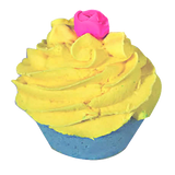 Coconut Scented Hand Made Cupcake Bath Bomb