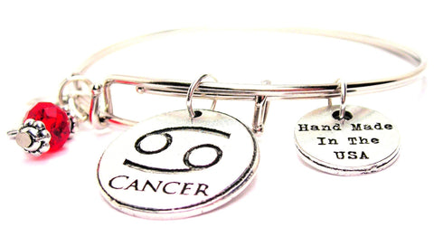 cancer bracelet, cancer awareness bracelet, bereavement bracelet, in memoriam bracelet
