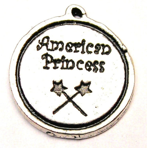 American Princess Genuine American Pewter Charm