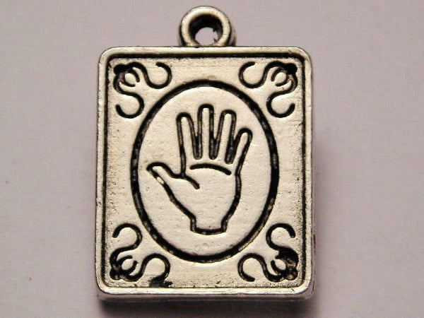 Fortune Tellers Sign Genuine American Pewter Charm