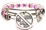 no gmo bracelet, gmo jewelry, anti gmo jewelry, food bracelet, food jewelry