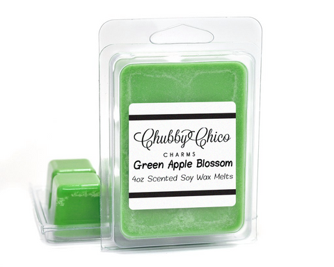 Green Apple Blossom Scented Soy Wax Melts