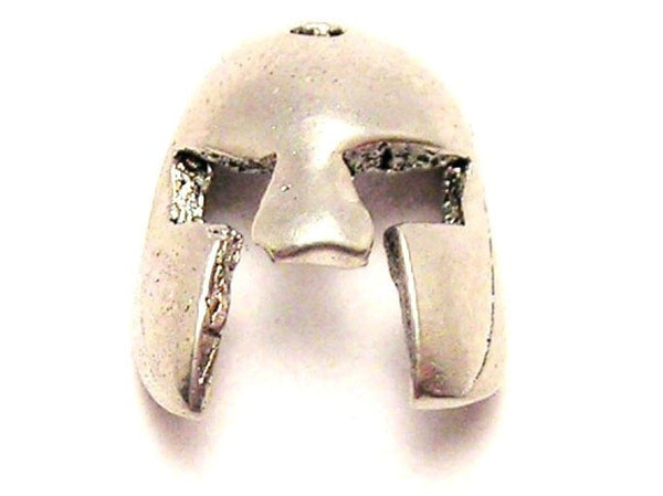 Gladiator Mask Genuine American Pewter Charm