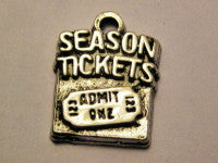 Seasons Tickets Genuine American Pewter Charm