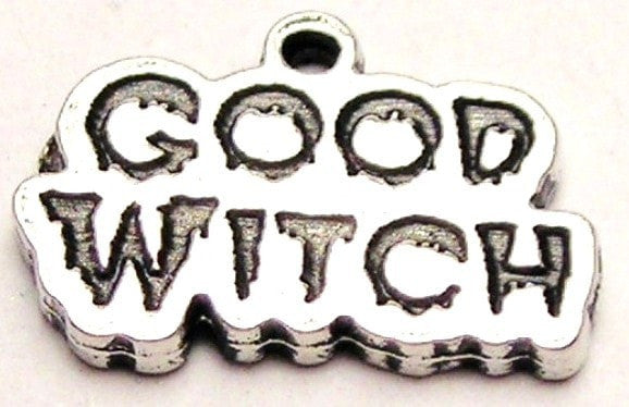 Good Witch Genuine American Pewter Charm