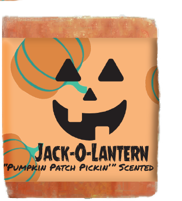 Jack-O-Lantern Kids Soap Bar