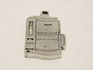 Electric Coffee Pot Genuine American Pewter Charm