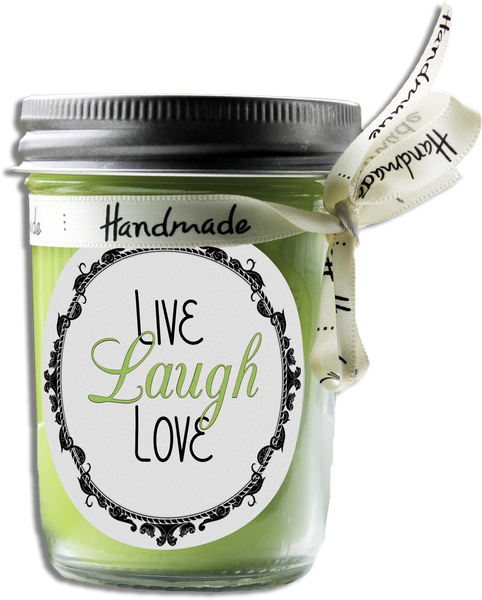 Live Love Laugh Scented Soy Candle