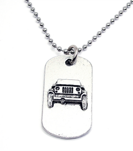 Off Road Catalog Dog Tag Necklace