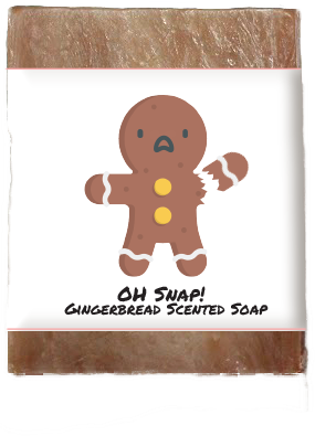 Oh Snap! Ginger Snap Kid's Soap Collection